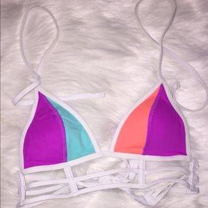 VS pink bikini top